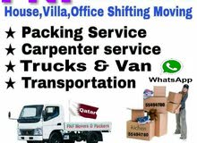 Qatar Moving/Shifting,Carpenter, Packing & Unpacking