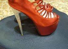 حذاء جديد مااستعمل مقاس 38