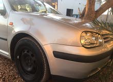 Volkswagen Golf car for sale 2002 in Sabratha city