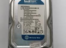 HDD 250GB بسعر السوق من شركة (WD)