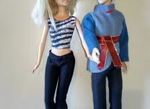 Vintage Couple Barbie + Ken dolls old models Original, Still like new.