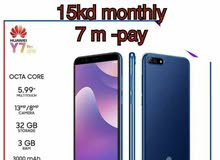 huawei y7 installment 3kd down payment 3 days offer