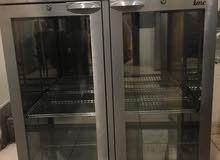افران وثلاجة عرض جديده ومشوى وقلاية بطاطا على الكهرباء لمطبخ كبير