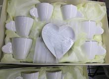 اطقم شوربه وقهوة من البورسلين