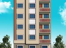 شقة فى الدور الثالث على شارع النصر  174 م للبيع