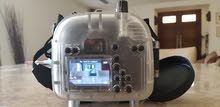 Canon EOS 550d with 40 metre underwater housing