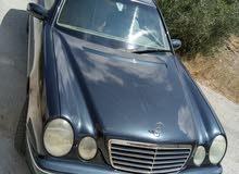 مرسيدس e 200  موديل 2002  للبيع بحاله الوكاله