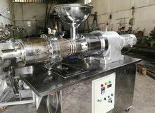 آلة تزييت بطريقة الضغط البارد للبذور الزيتية