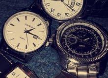 ساعات جديدة ومستعملة