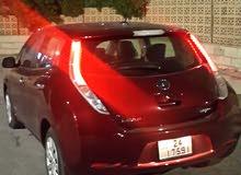Nissan Leaf 2016 For sale - Maroon color