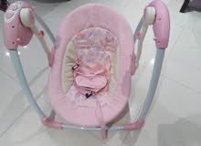 كرسي هزاز + كرسي سيارة(كوت)+مرجيحة للاطفال