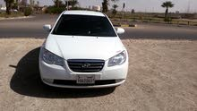 White Hyundai Avante 2007 for sale