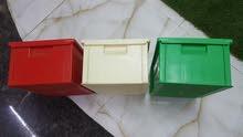 صناديق بلاستيكية للمعدات الميكانيكية والمعدات الالكترونية/Plastic bins for mecha