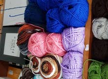 wool for knitting خيطان صوف للخياطة