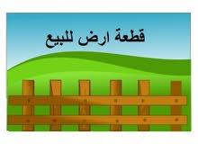 قطعة ارض للبيع حوض مروج المحمر شفا بدران