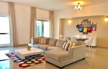Spacious, sea view, 3bhk apartment furnished for rent in amwaj island
