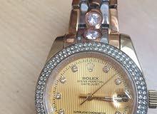 ساعة رولكس نسائية -Rolex Datejust- بحالة ممتازة-بيع مستعجل !!!