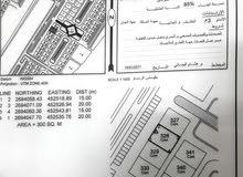 للبيع ارض سكني تجاري صحار ولي ع الشارع العام 300متر