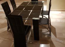 طاولة سفرة 6 كراسي للبيع