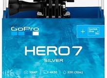 كاميرا جو برو GoPro Hero 7 silver