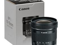 Lens Canon 18-10 IS STM