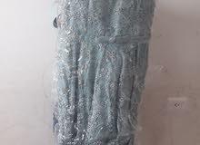 فستان سهرة مستعمل لبستين بحالة ممتازة