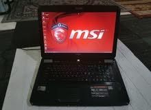 MSI Gaming laptop i7 big screen