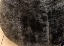 Faux Fur Bean Bag and Floor Pouf