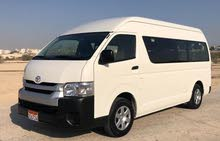 Toyot Hiace High Roof Bus for Yearly lease 2018 Automatic 13 seater