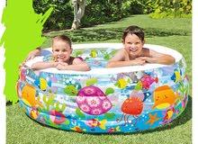 حمام سباحة أطفال وخيمة وكرسي  Swimming Pool Kids Tent and Chair