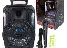 Speaker With Mic Karaoke and Bluetooth