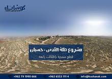 أراضي سكنية للبيع في حسبان /ناعور