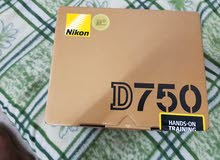 Nikon D750  professional Camra ( only Body )  full Box Accsess