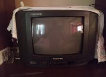 تليفزيون توشيبا 14 بوصه بحاله ممتازه