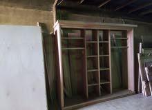 غرف نوم خشب لاتيه 18 قشرة بلوط طابق أو طابقين 650JD جميع الألوان متوفره
