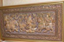 لوحة تطتريز هندية عمرها أكثر من خمسون عاما