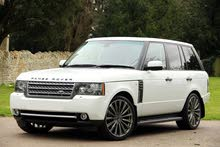 Renting Land Rover cars, Range Rover 2012 for rent in Amman city