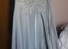 فستان سهرة لبسة واحده