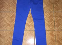 new. color jeans. brand.
