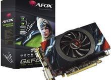 كرت شاشة 4 جيجا بايت  AFox GeForce GT630 (4GB) Graphic card 128bit DDR3