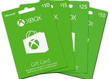 Gift Card for Xbox one (10€ & 10$)