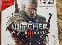 لعبة The Witcher wild hunt للبلي 4 ويدتين بلي 3 ويدة اكسبوكس 360