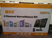 CCTV Camera 4 Channel NVR Kit