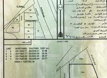 للبيع: سكني تجاري/ اليحمدي 5/ ولاية إبرا / الخط الأول مقابل لفة اليحمدي وقريبة من محطة شل