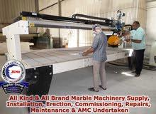 Marble Machineries Supply, Repairs, Upgrades & Maintenance