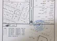 ارض سكنية للبيع كورنر في الراكي