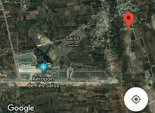 أرض للبيع قرب مطار فاس سايس 4000 متر مربع