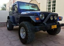 Available for sale! 0 km mileage Jeep Wrangler 1999