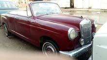 سيارة مرسيدس موديل 1957 للبيع