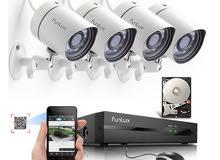 فني كاميرات مراقبة وكمبيوتر وموبايل